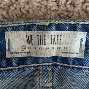 Ankle, High Waisted Mom Jean Look. Women's Size 24